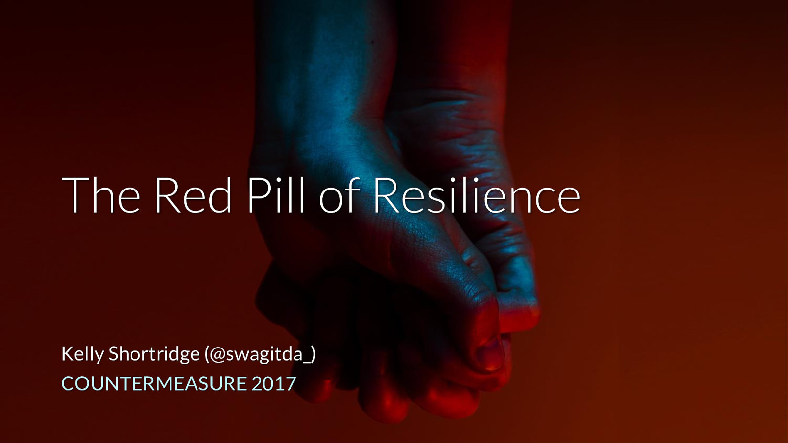 The Red Pill of Resilience (Keynote)