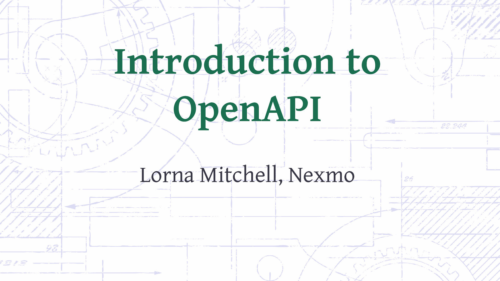 Introduction to OpenAPI