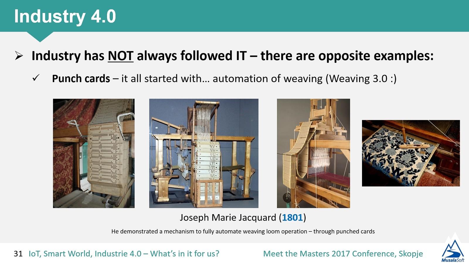 IoT, Smart World & Industry 4.0