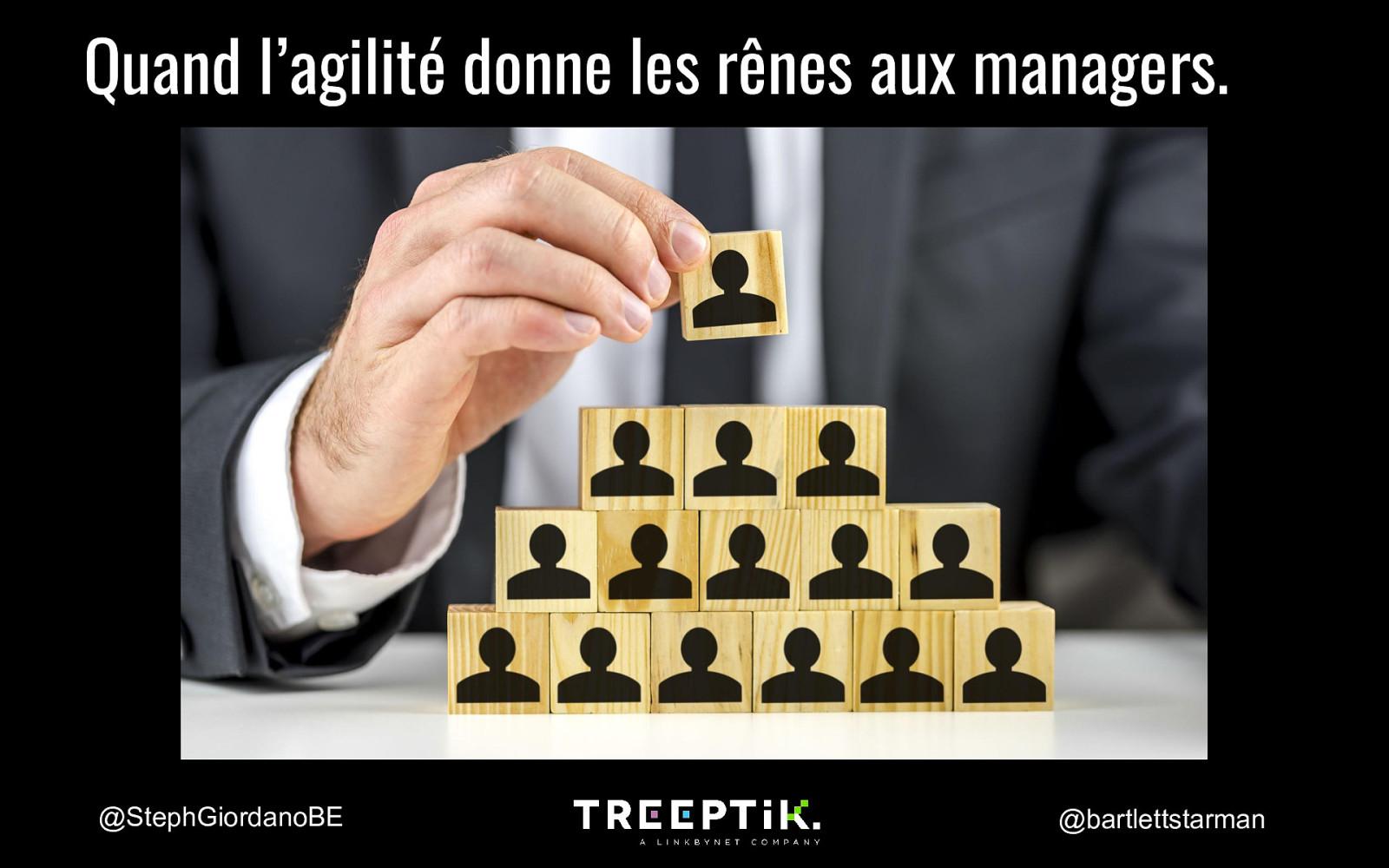 Quand l'agilité donne les rênes aux managers