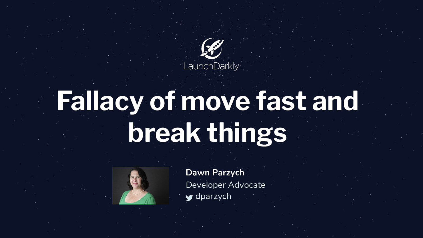 The Fallacy of Move Fast and Break Things