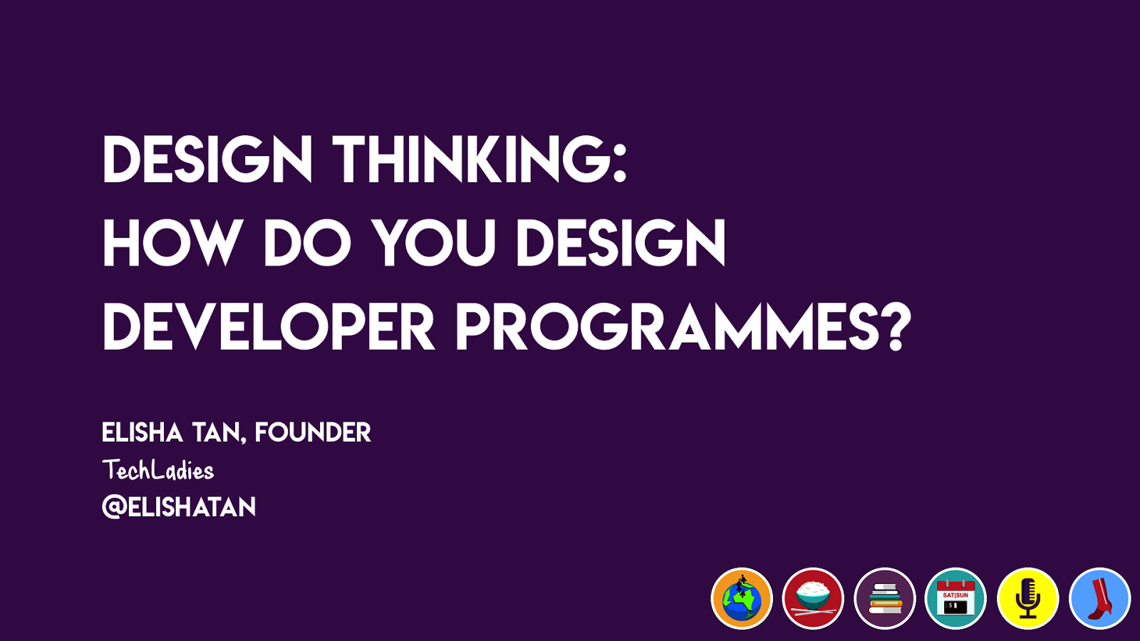 Design Thinking: How do you design developer programs?