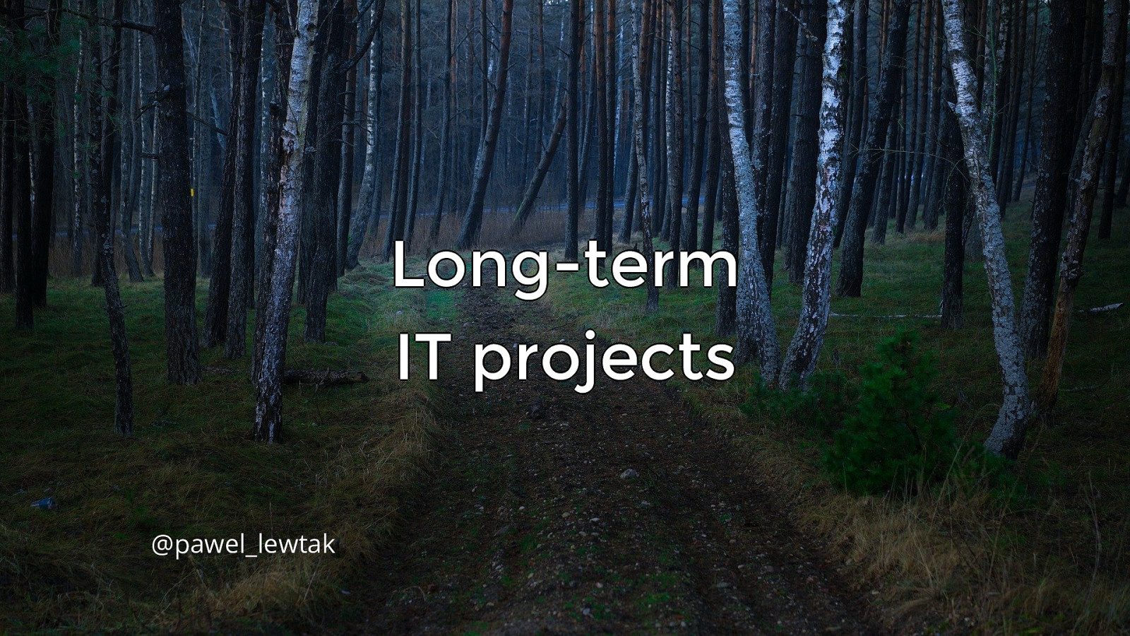 Dobrze prowadzony projekt od A do Z - okiem programisty