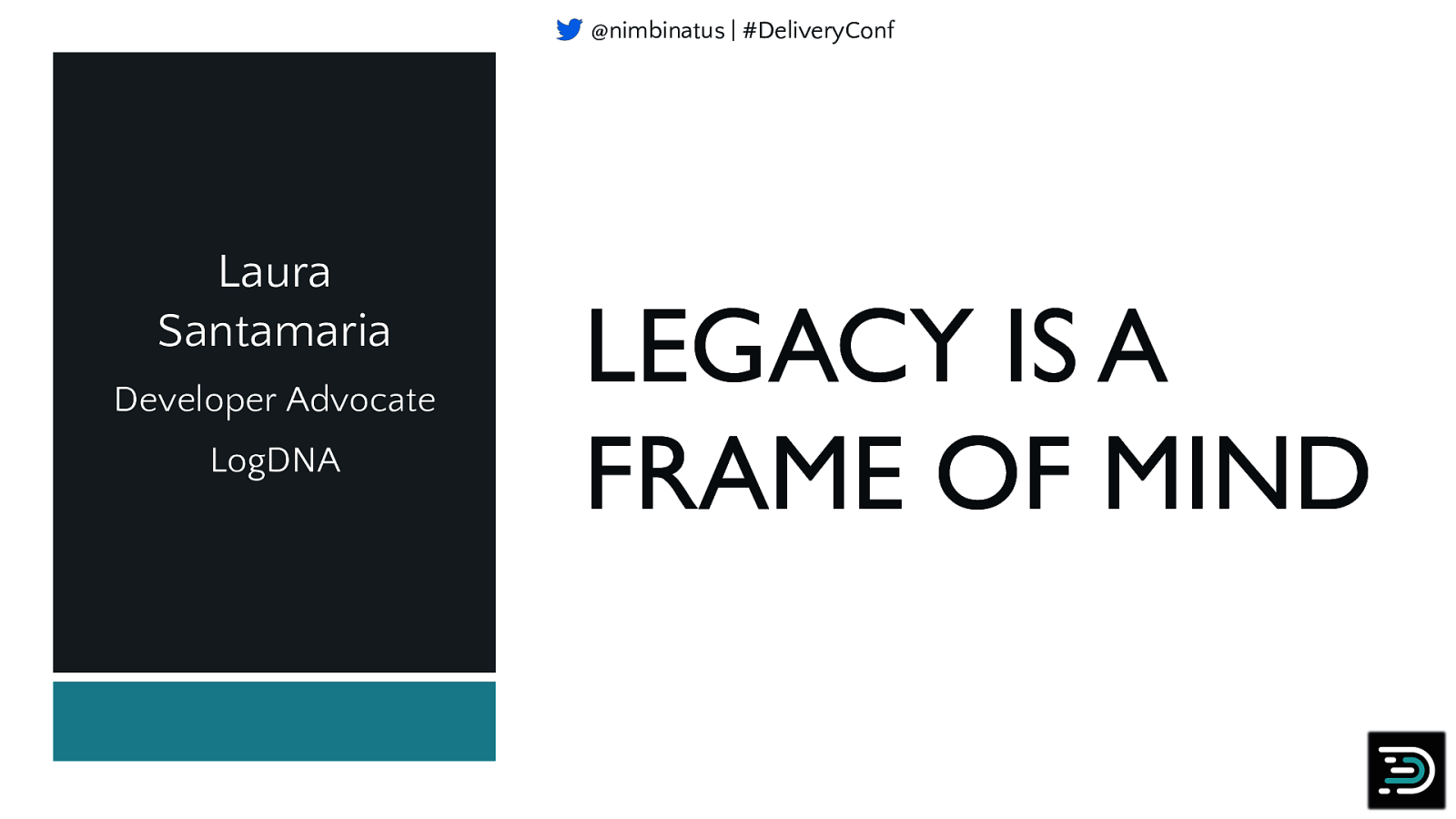 Legacy is a Frame of Mind