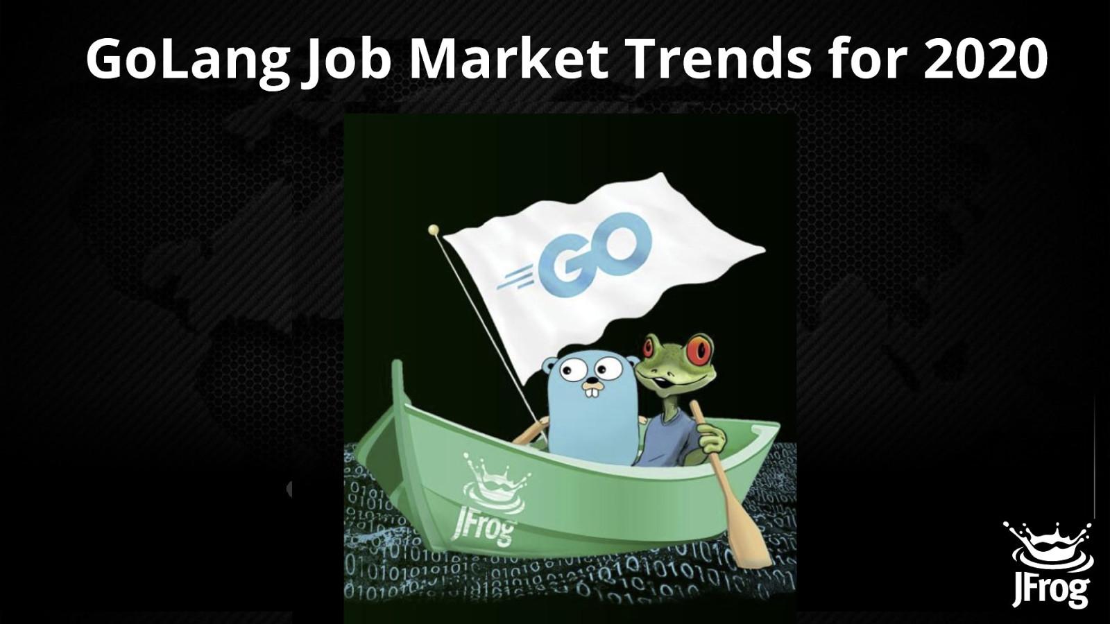GoLang Job Market Trends for 2020