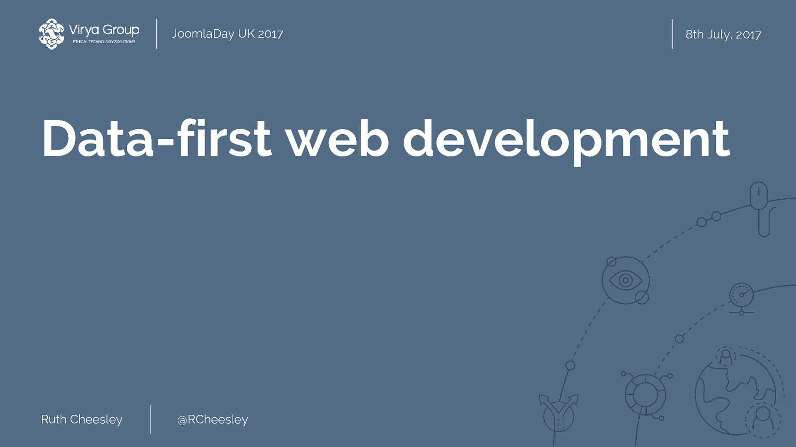 Data-first web development