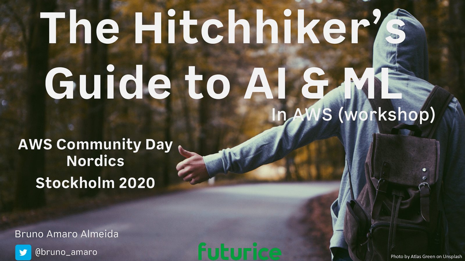 The Hitchhiker's Guide to AI & ML in AWS (workshop)