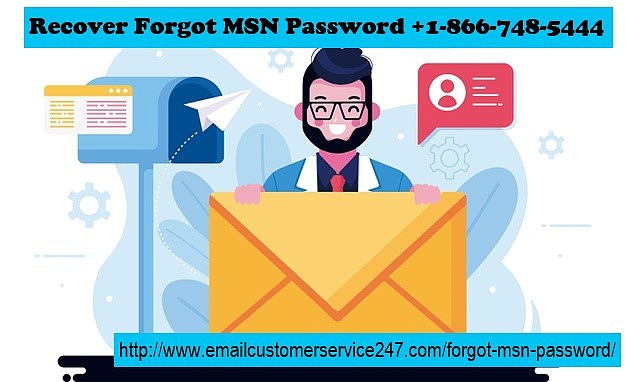 Forgot MSN Password   Dial +1(866)748-5444   Recovery Tips
