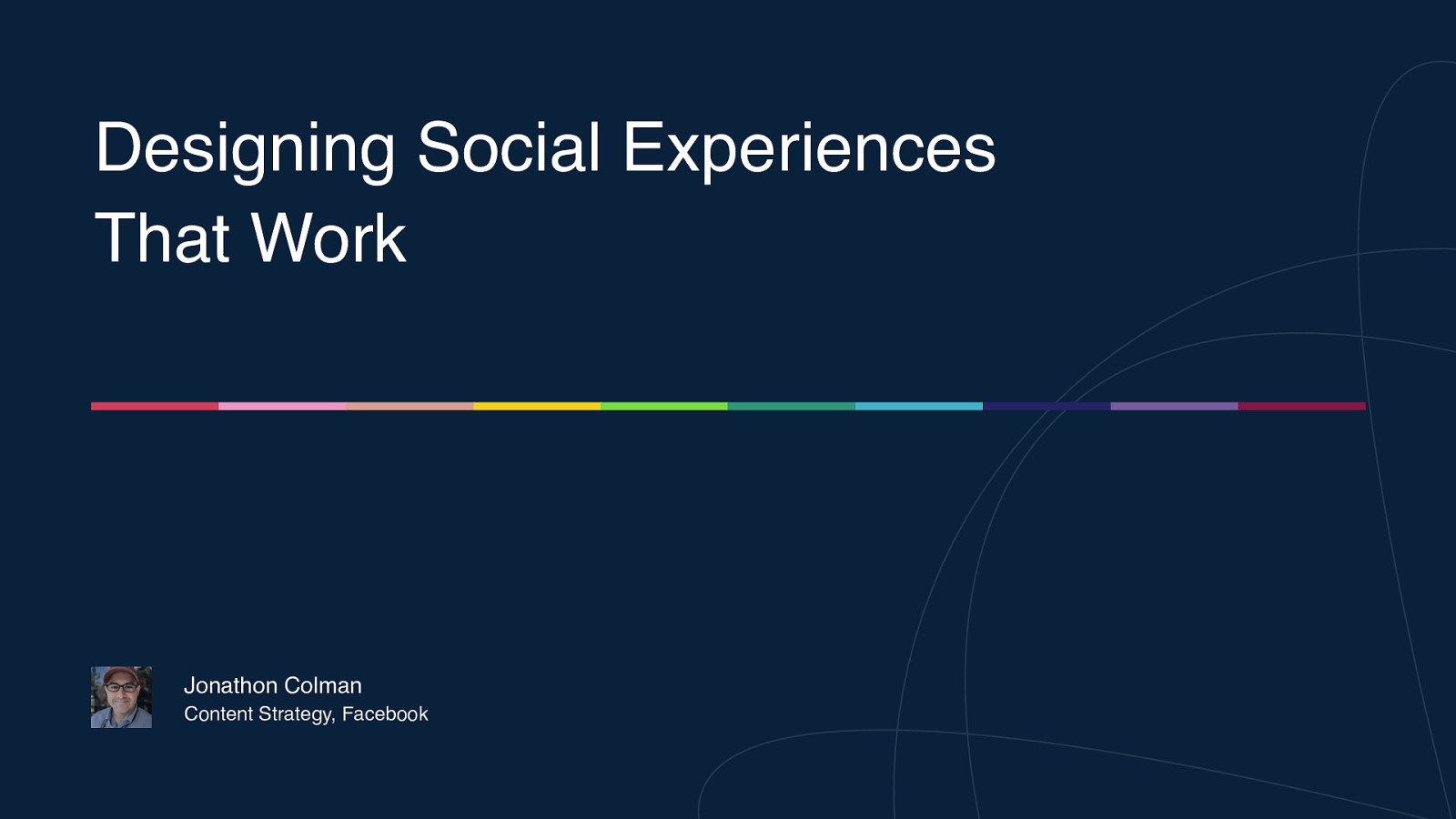 Designing Social Experiences That Work
