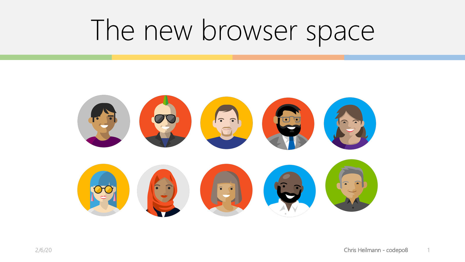 The new browser space