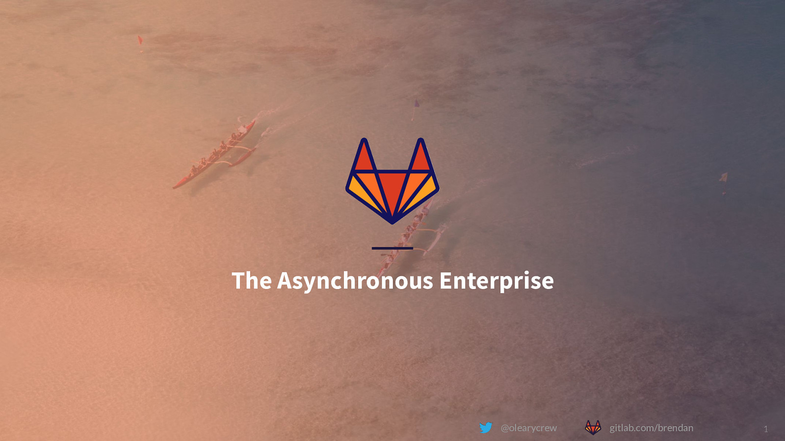 The Asynchronous Enterprise