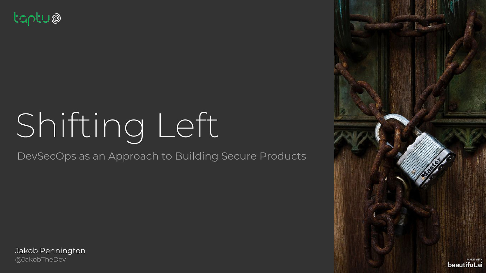 Shifting Left: DevSecOps as an Approach to Building Secure Products