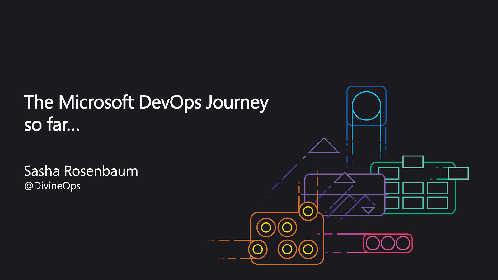 The Microsoft DevOps Journey (so far) - Guadalajara, 2020