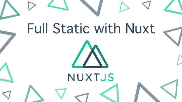 Full Static with Nuxt