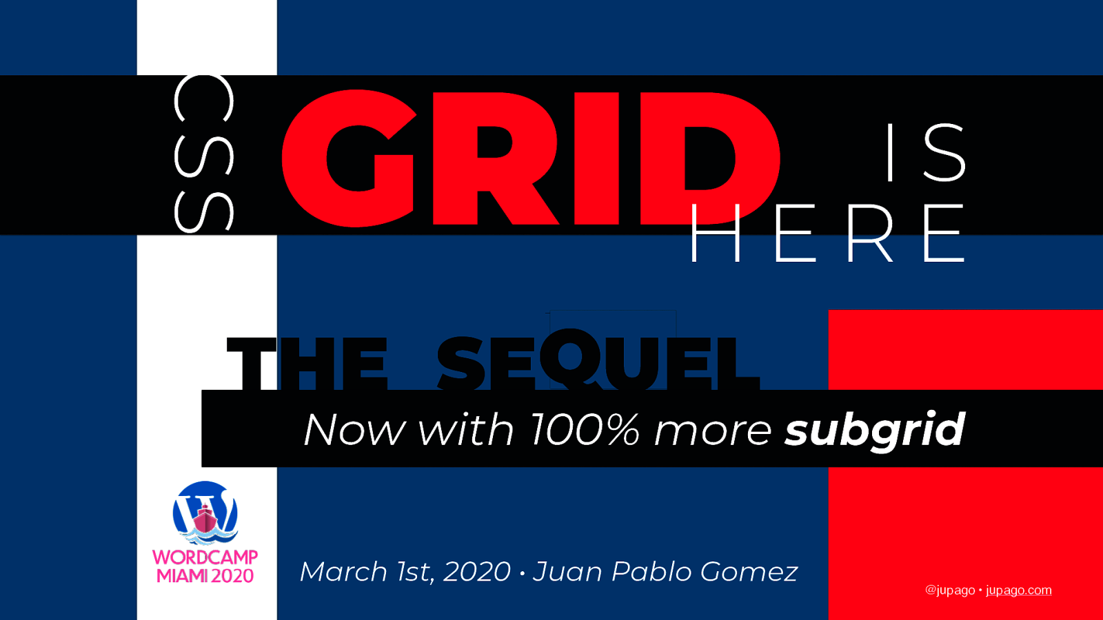 CSS Grid is Here: The Sequel, now with 100% more Subgrid