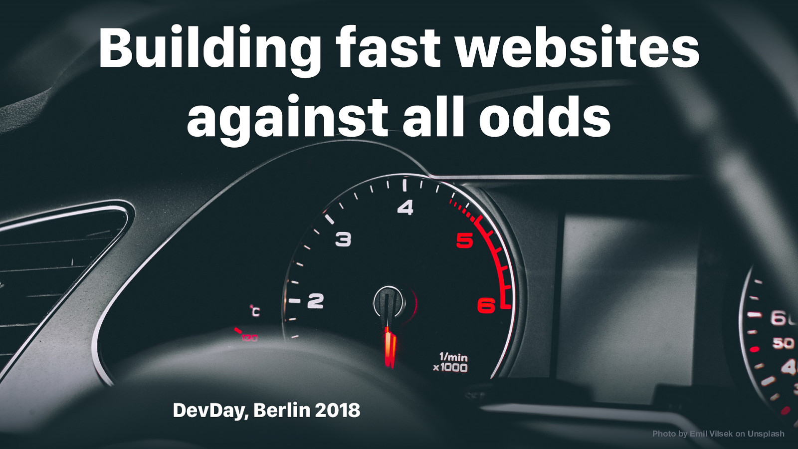 Building Fast Websites Against All Odds