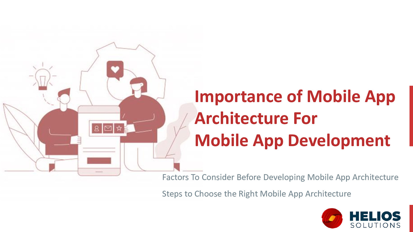 Importance of Mobile App Architecture For Mobile App Development