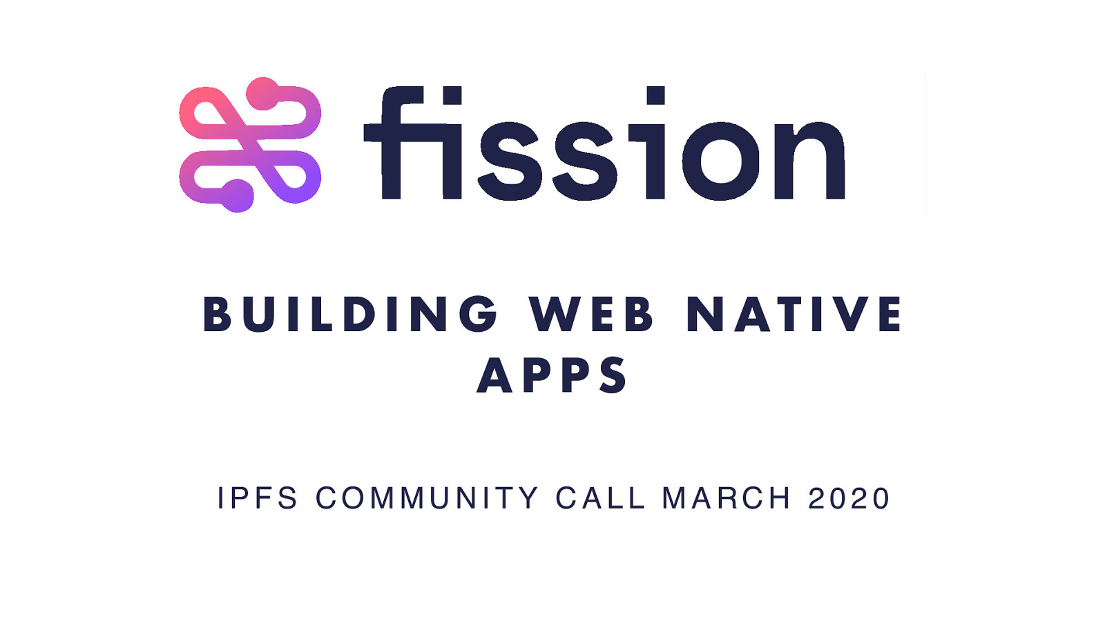 Fission - Building Web Native Apps