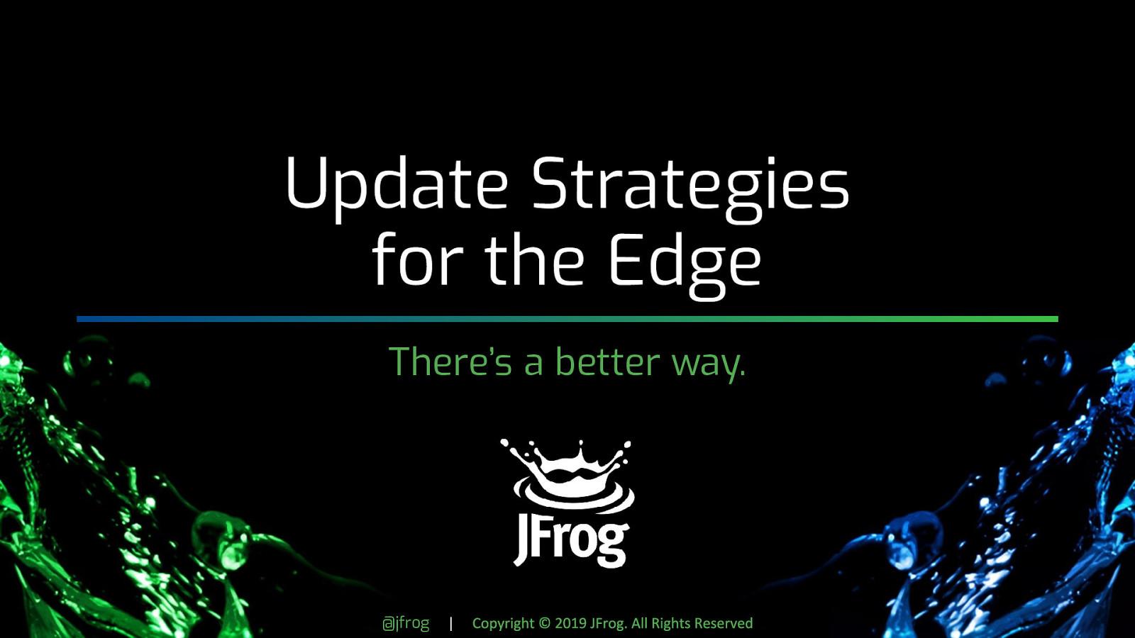 Updating the Edge