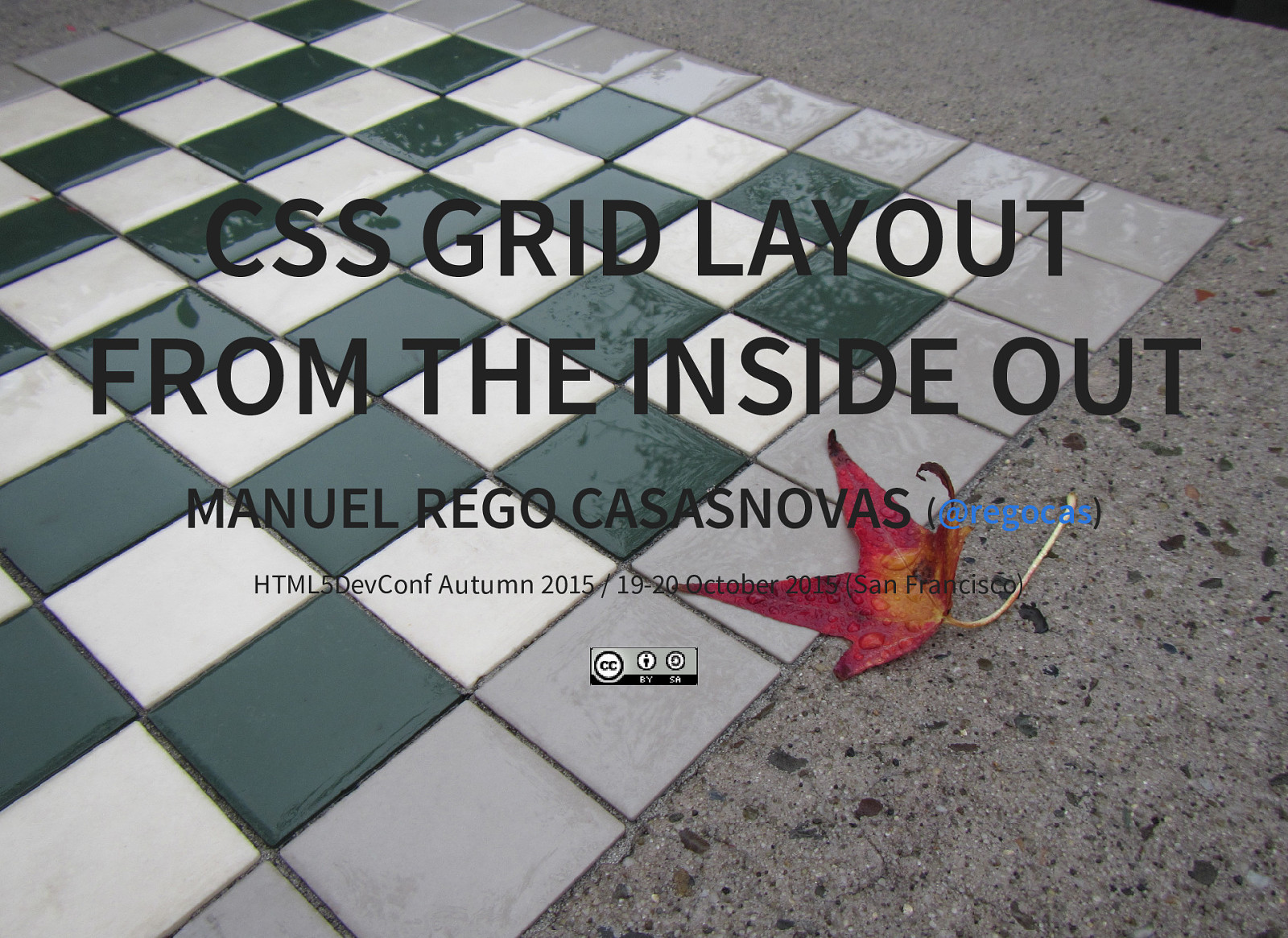 CSS Grid Layout from the inside out