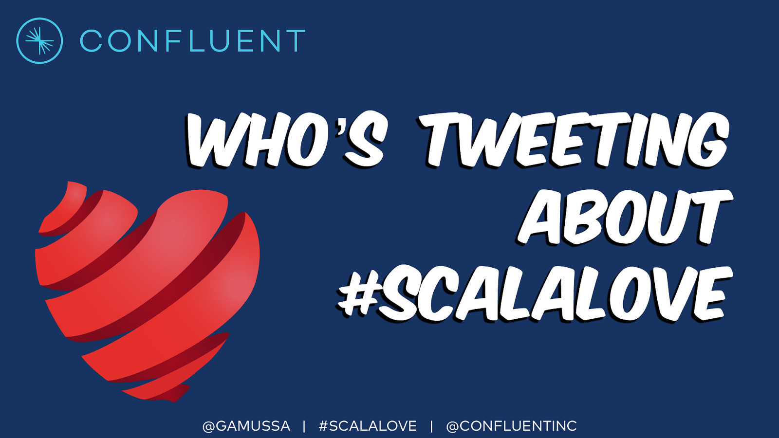 Who's tweeting about #ScalaLove