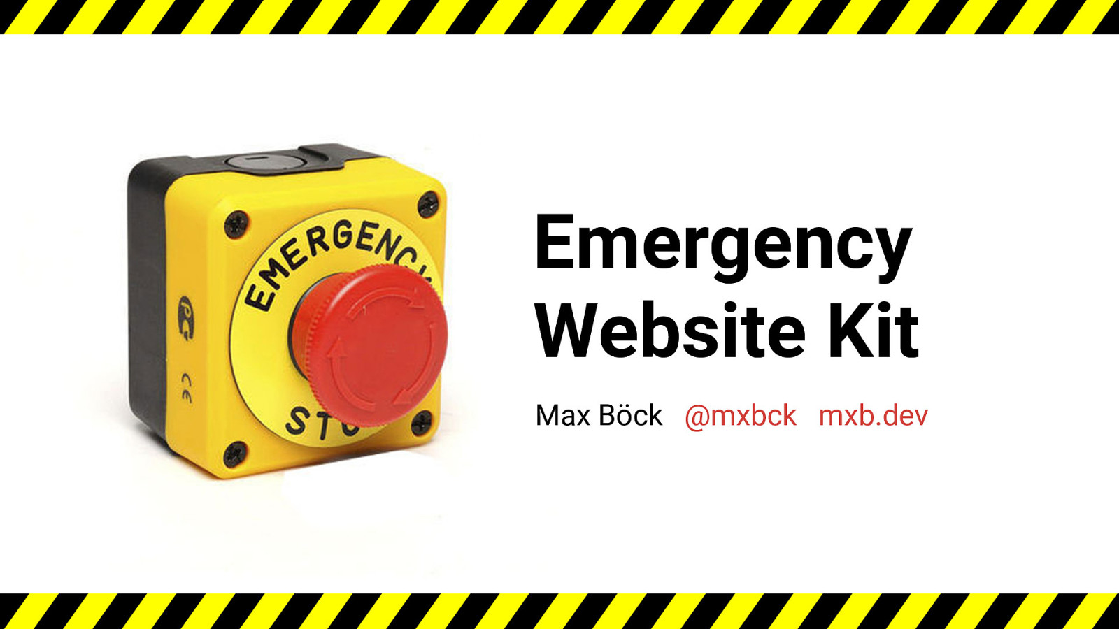 Emergency Website Kit
