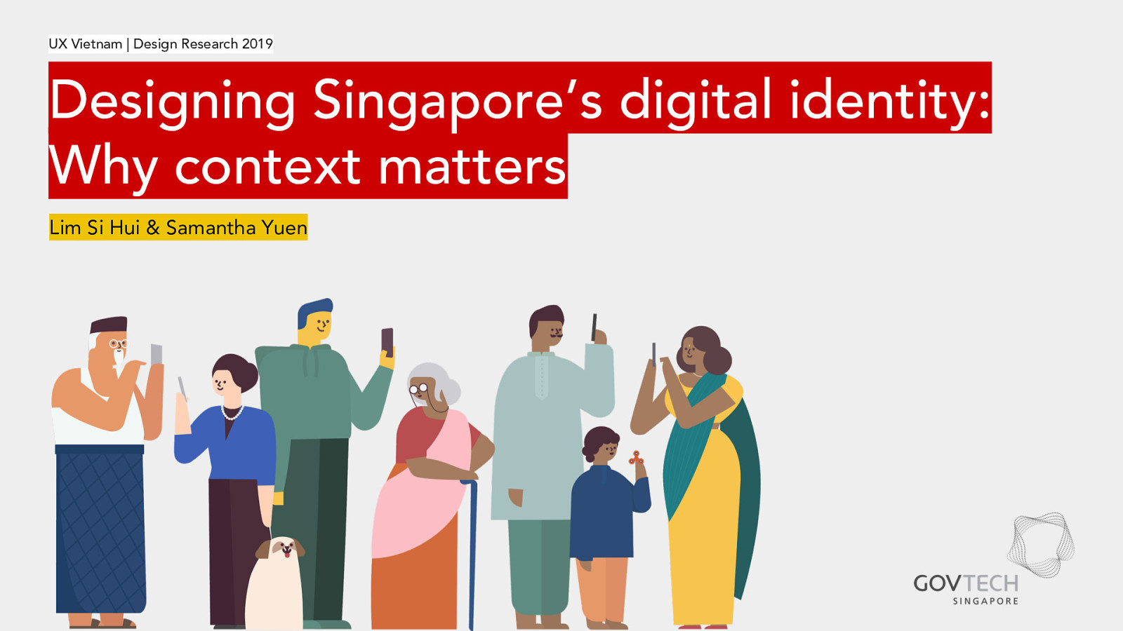 Designing Singapore's digital identity: Why context matters
