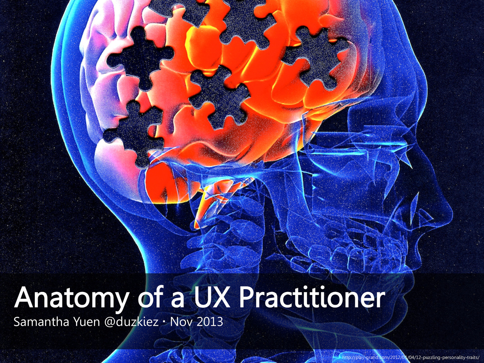 Anatomy of a UX practitioner