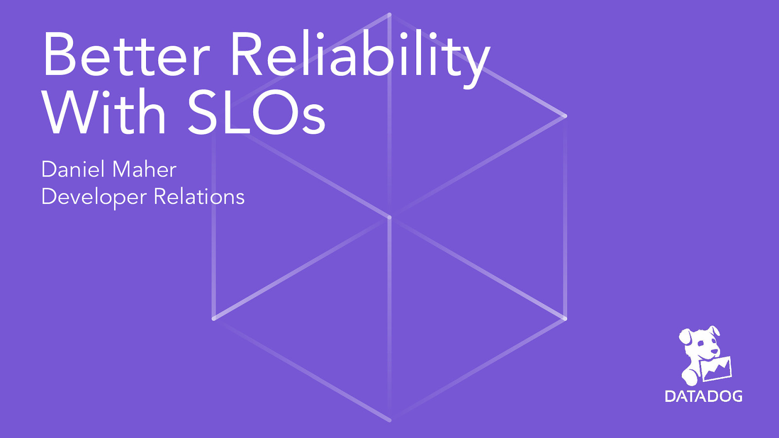 Better reliability through SLOs