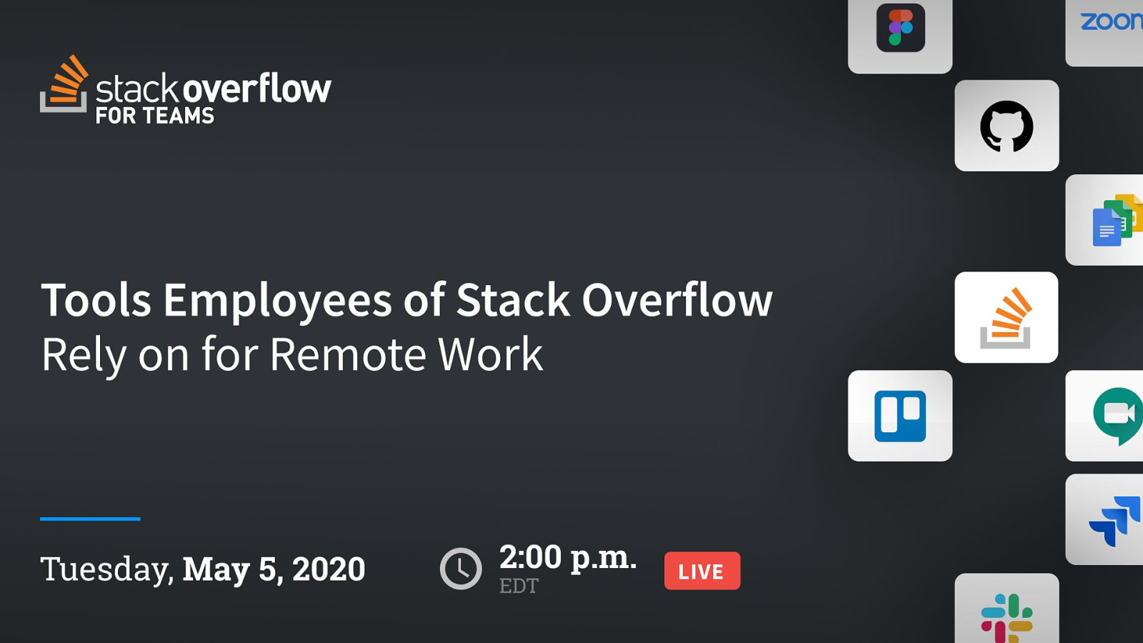 Tools Employees of Stack Overflow Rely on for Remote Work