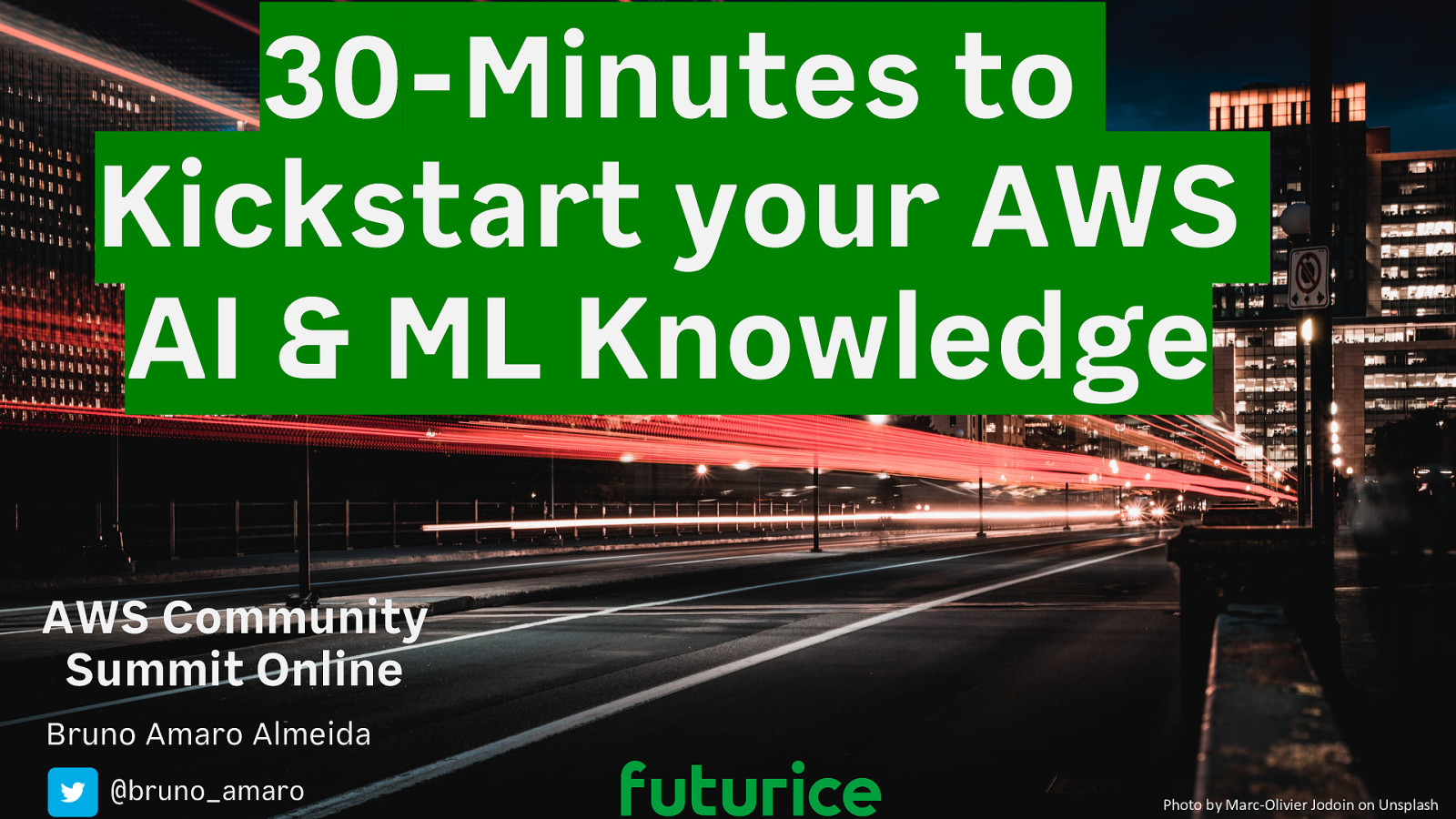 30-Minutes to Kickstart your AWS AI & ML Knowledge