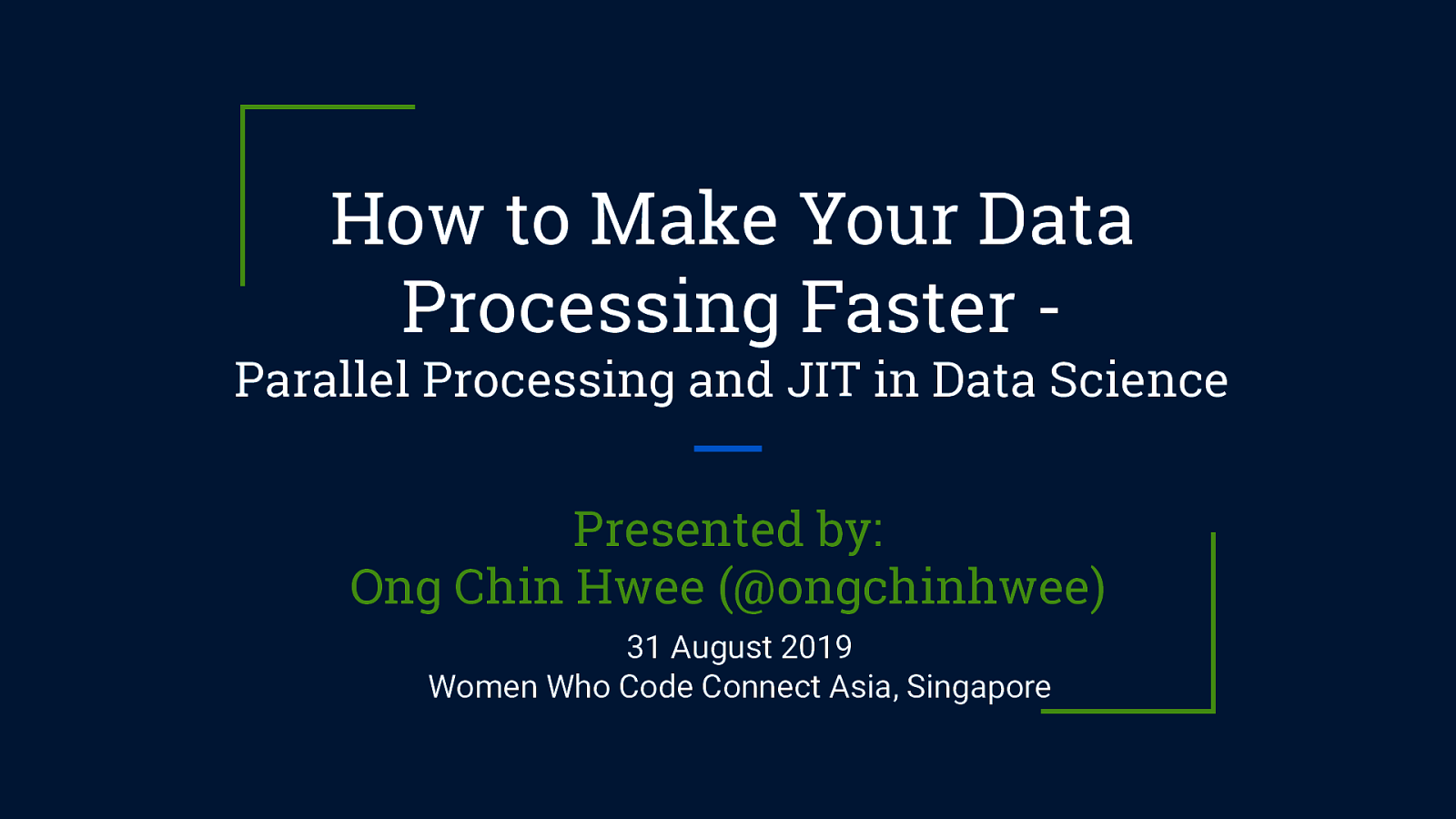 How to Make Your Data Processing Faster - Parallel Processing and JIT in Data Science