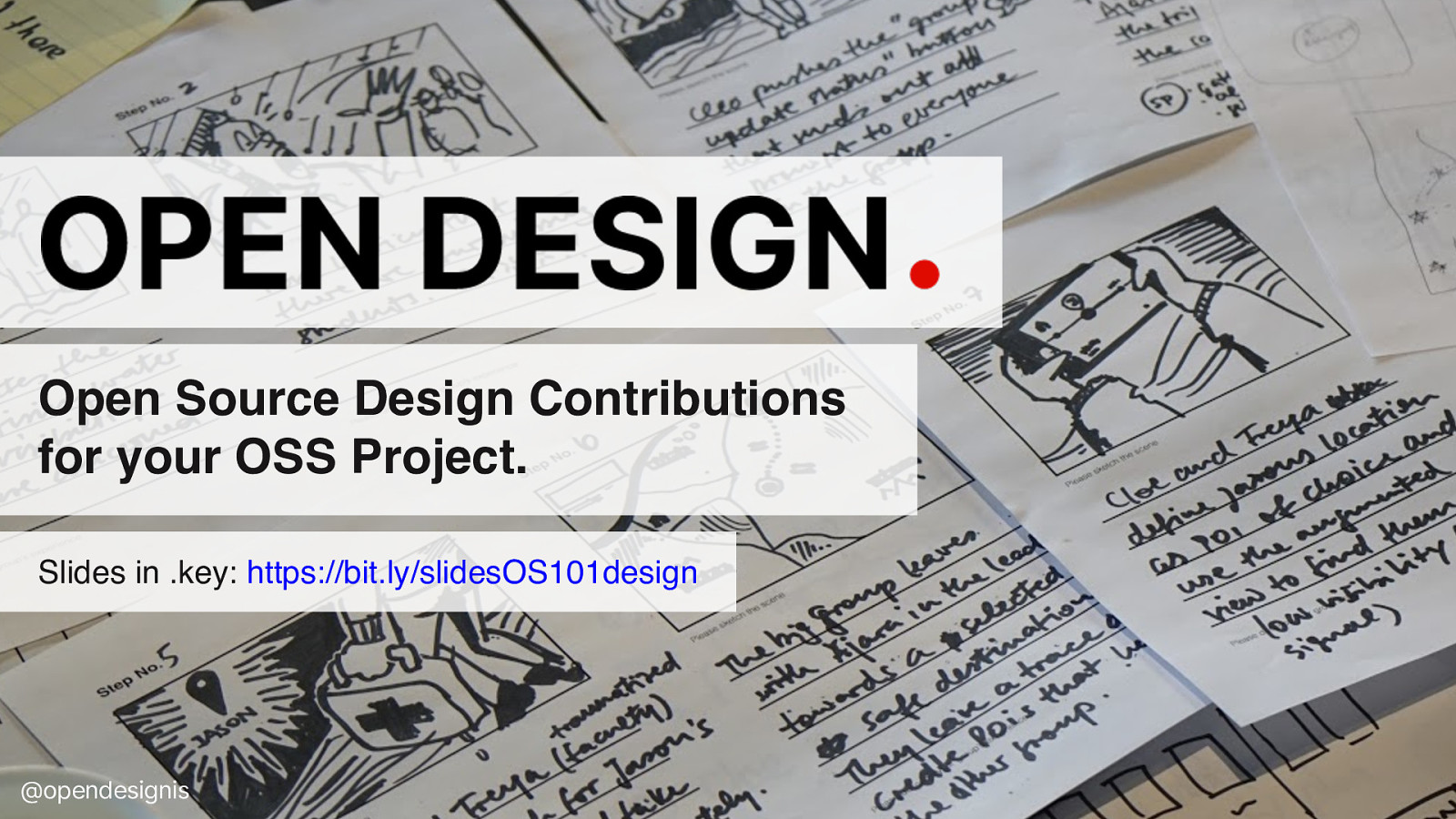 Open Source Design Contributions for your OSS Project.