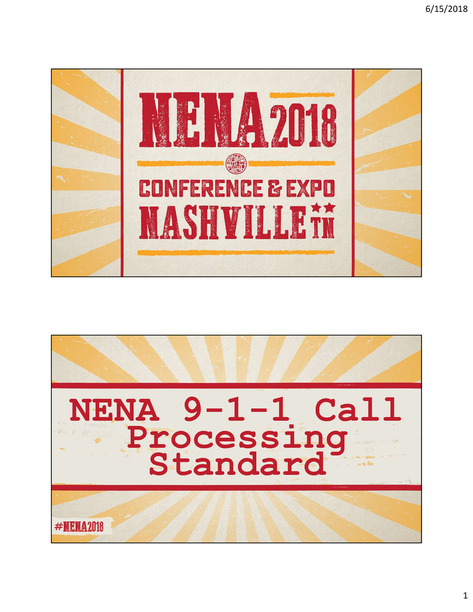 9-1-1 Call Processing - The New ANSI Standard