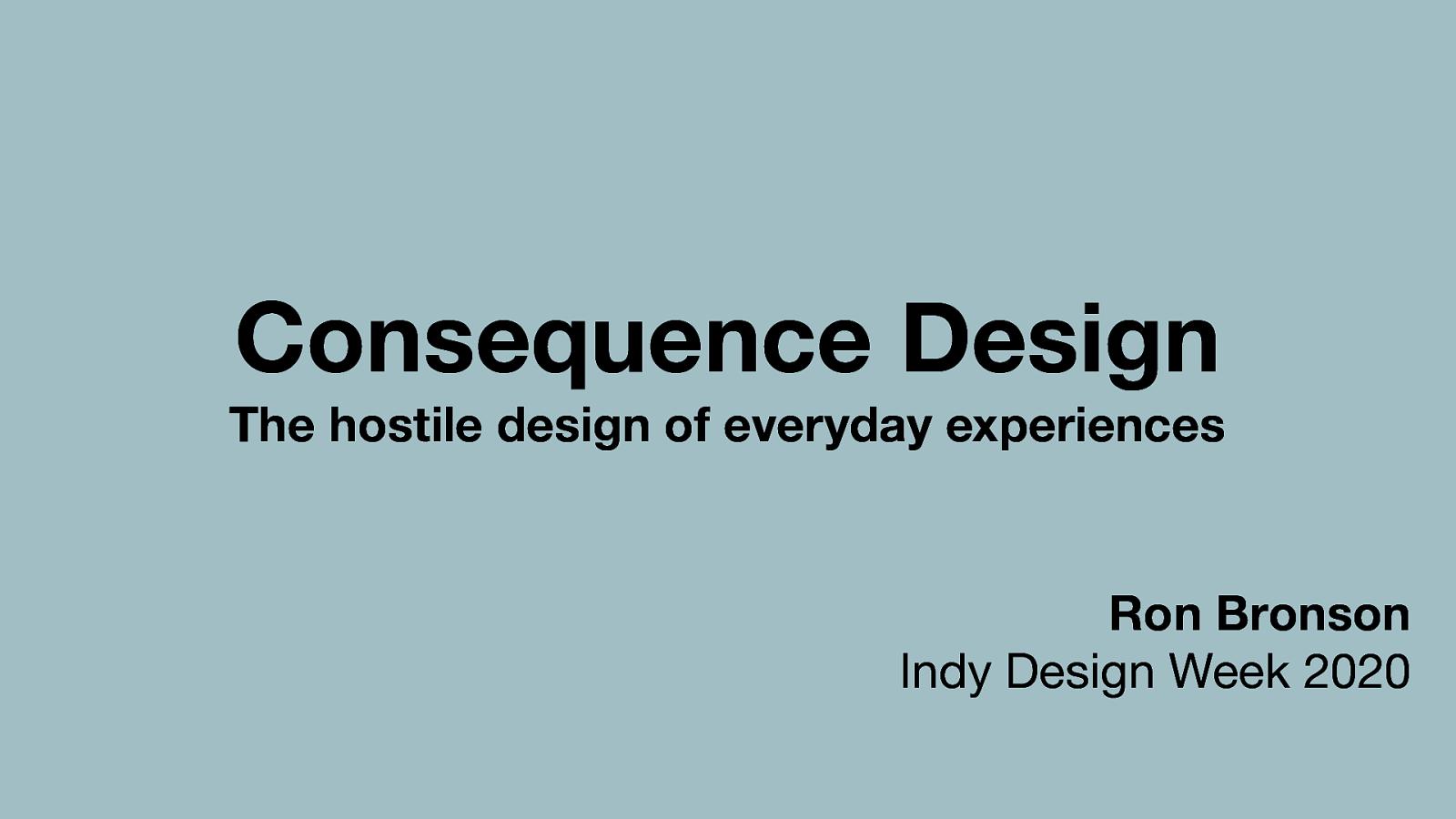Hostile Design of Everyday Experiences