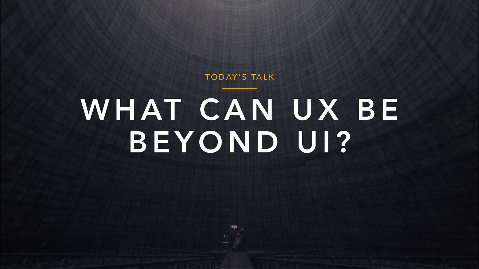 UX is UI: When Worlds Collide