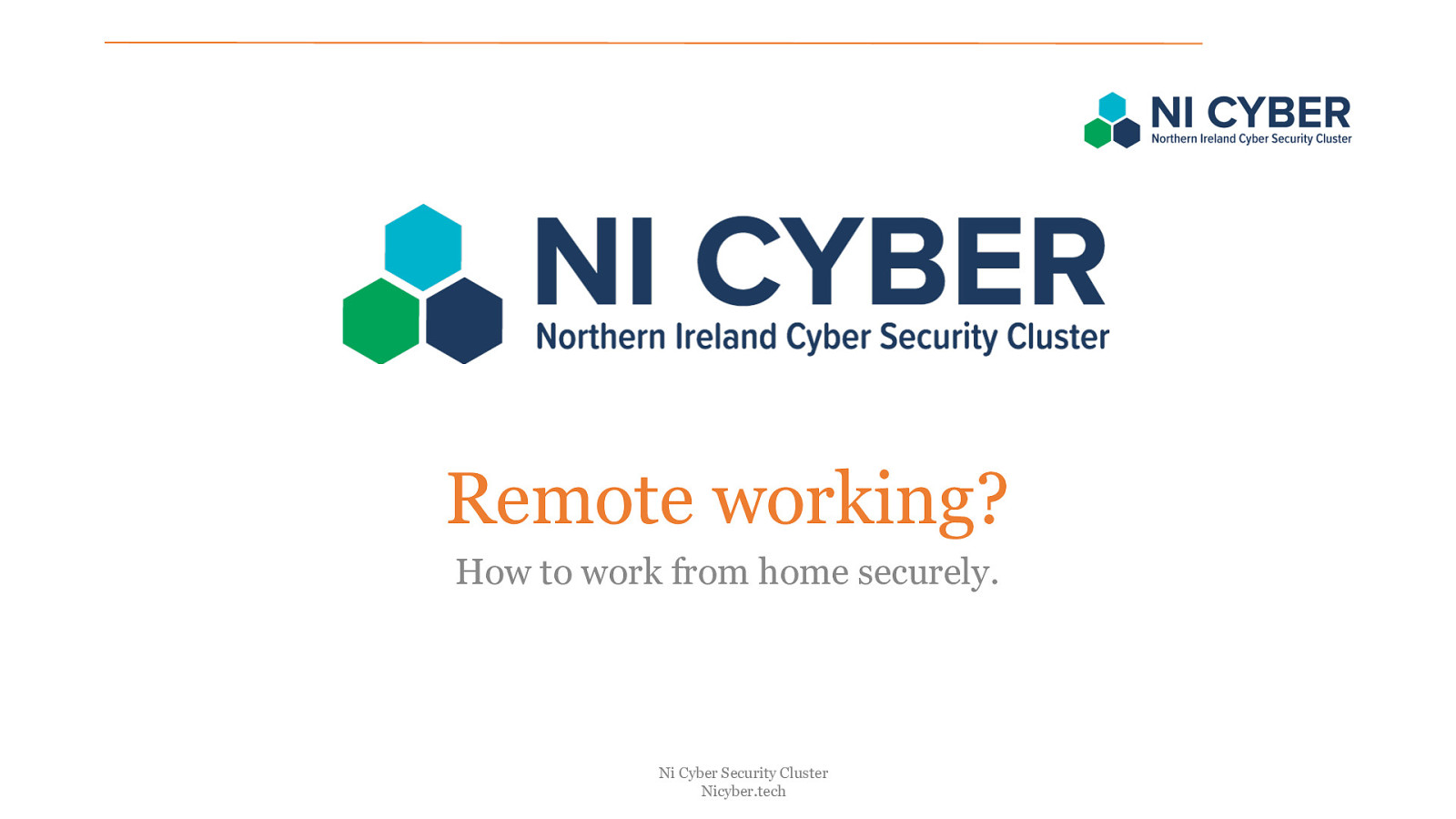 Remote working: how to work securely from home