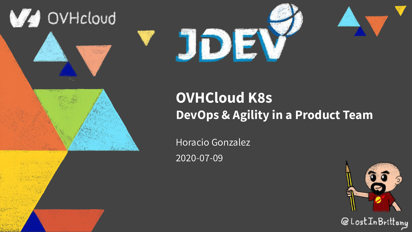 OVHCloud K8s: DevOps & Agility in a Product Team