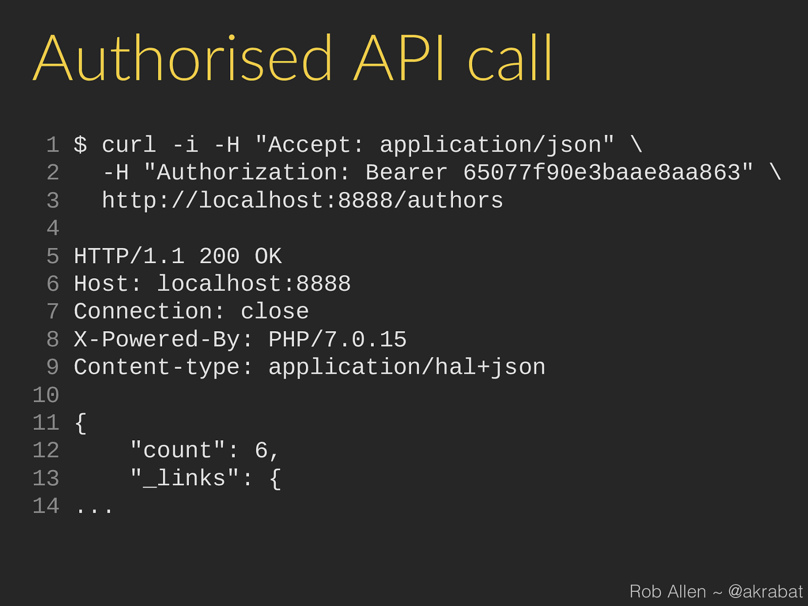 Protect Your API With OAuth2