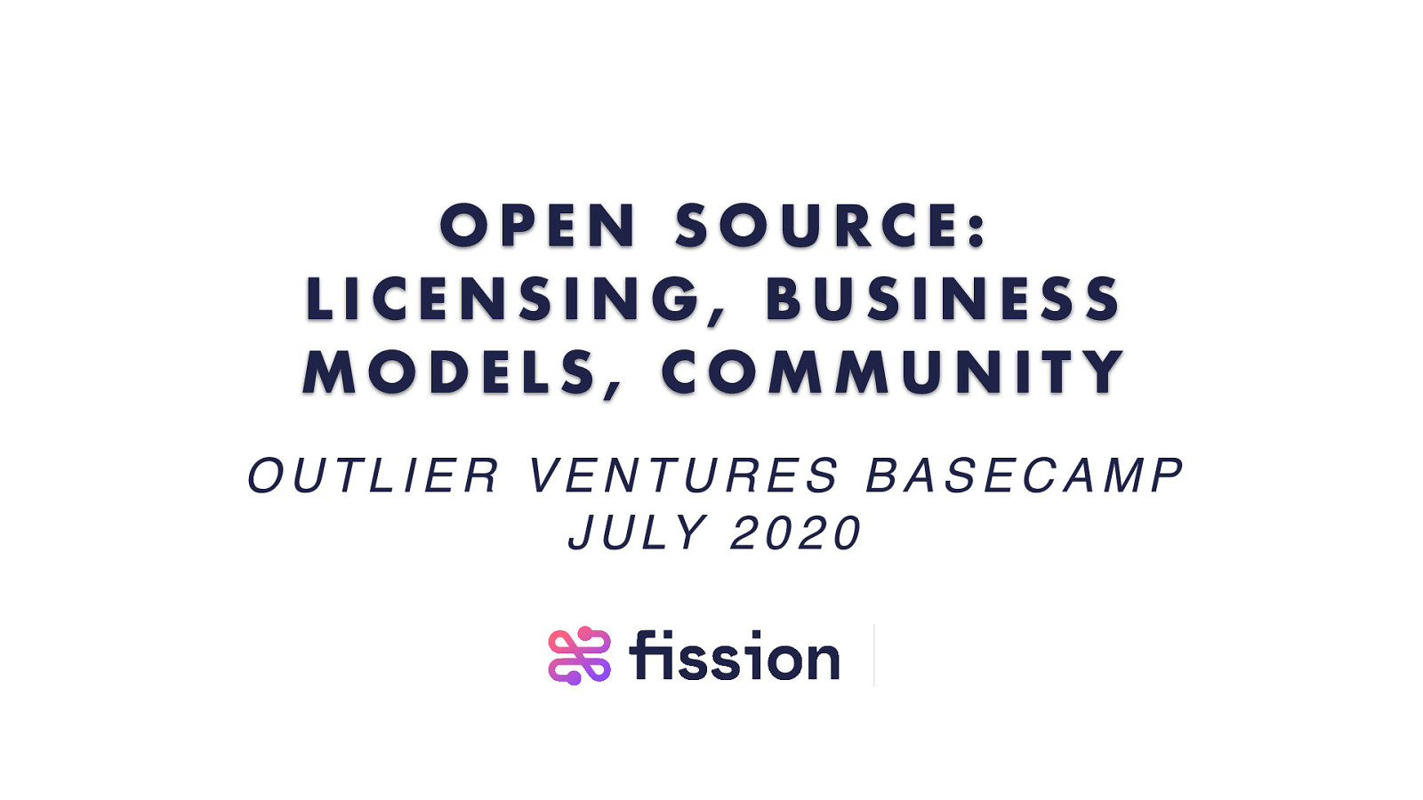 Open Source: Licensing, Business Models, Community
