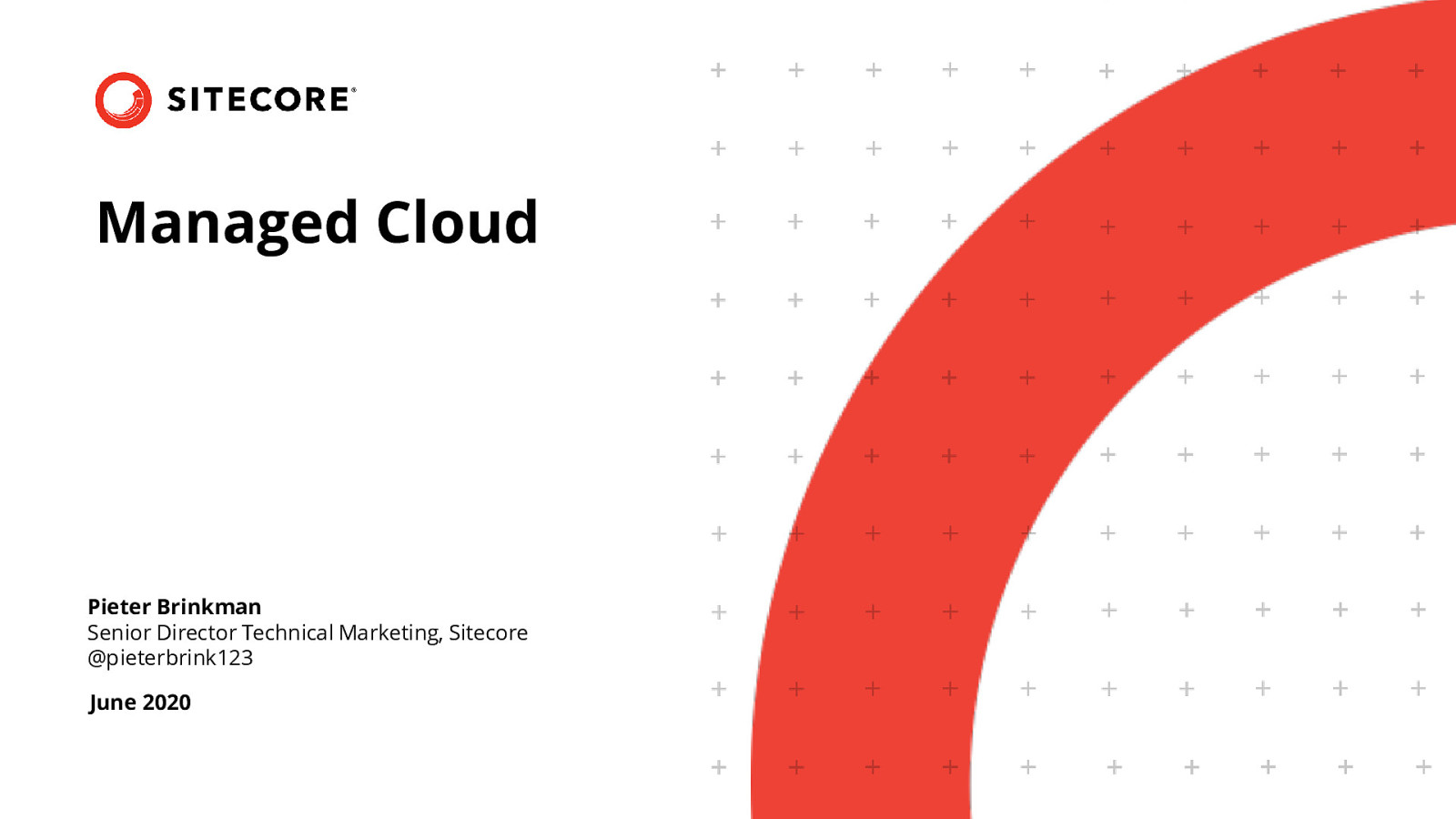 Introduction to Sitecore Managed Cloud