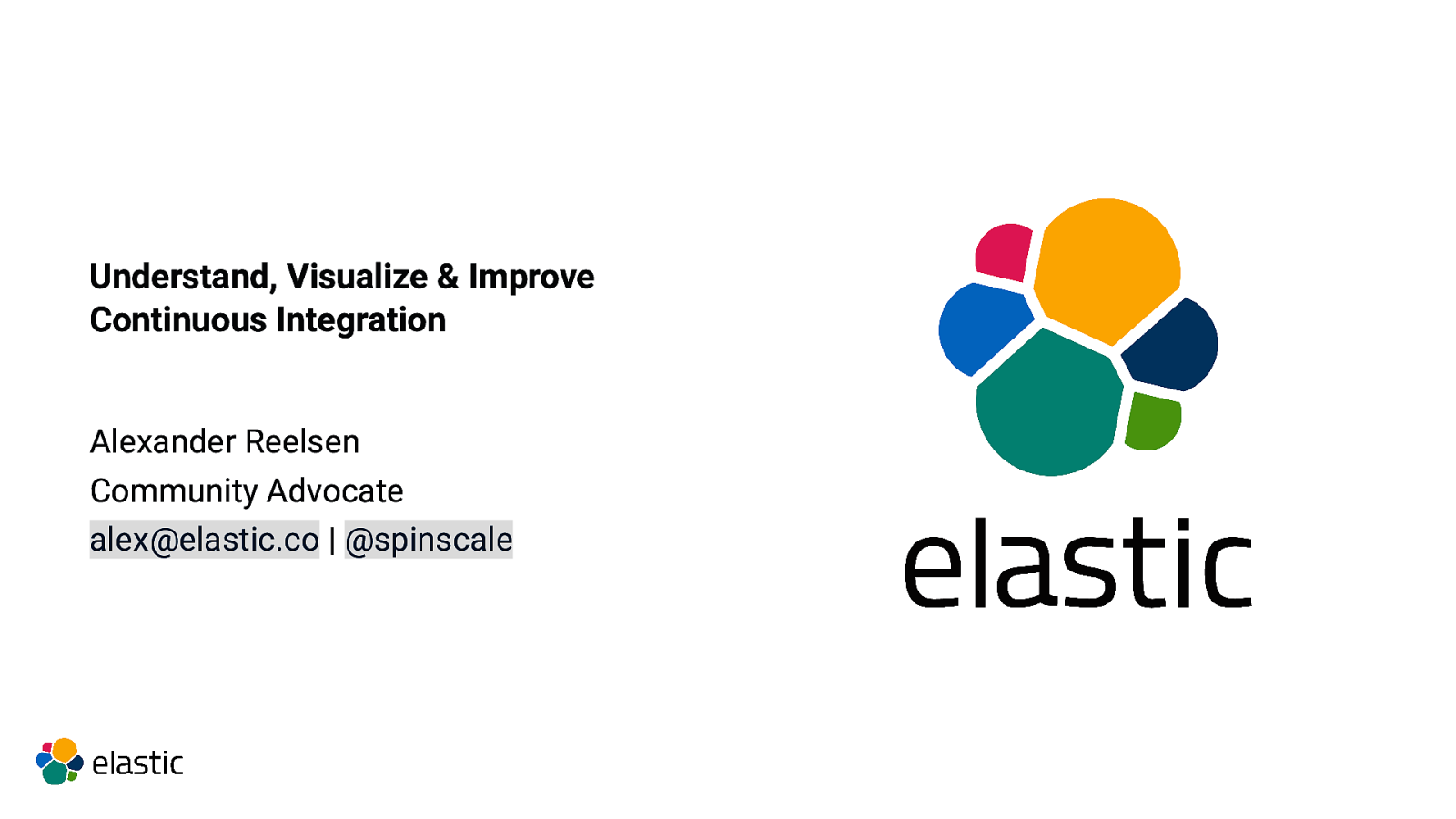 Understand, Visualize & Improve Continuous Integration using the Elastic Stack