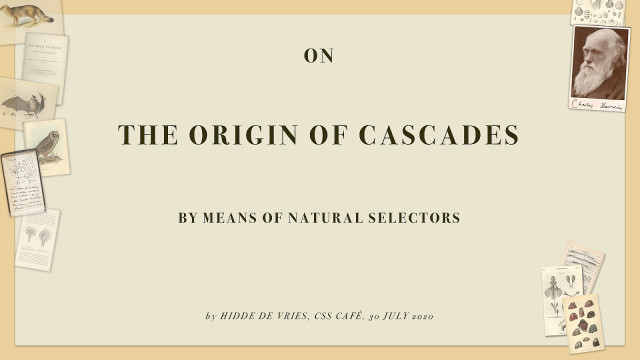 On the origin of cascades