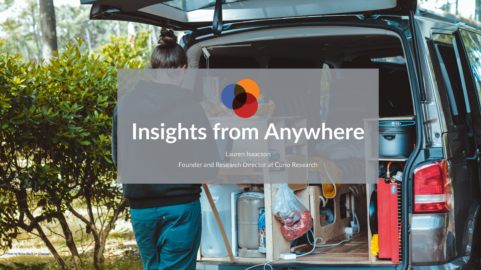Insights from Anywhere