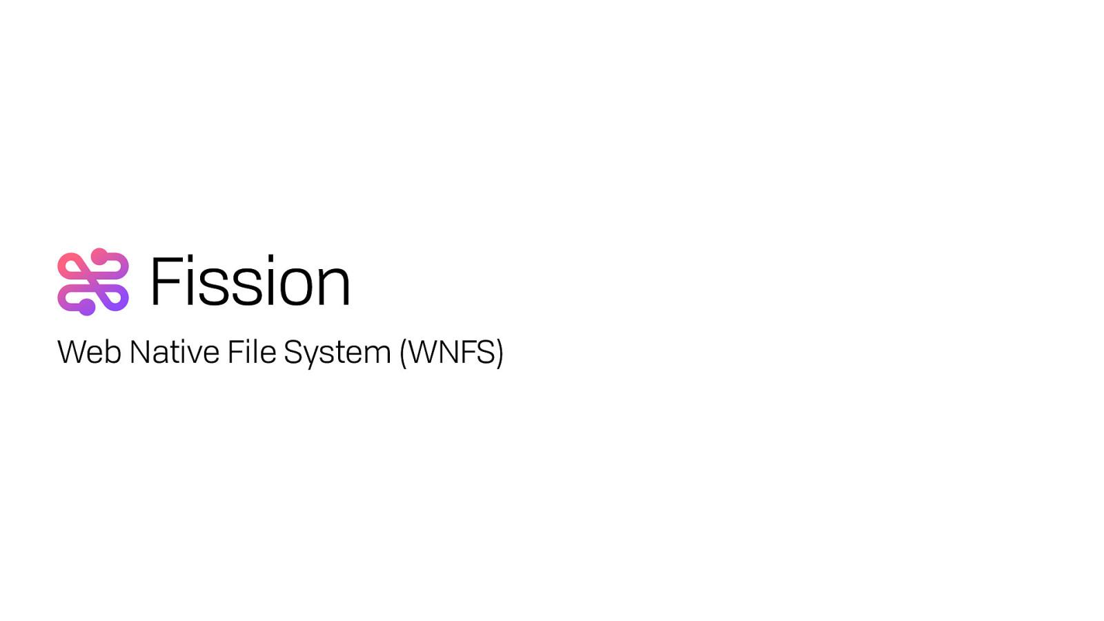 WebNative File System