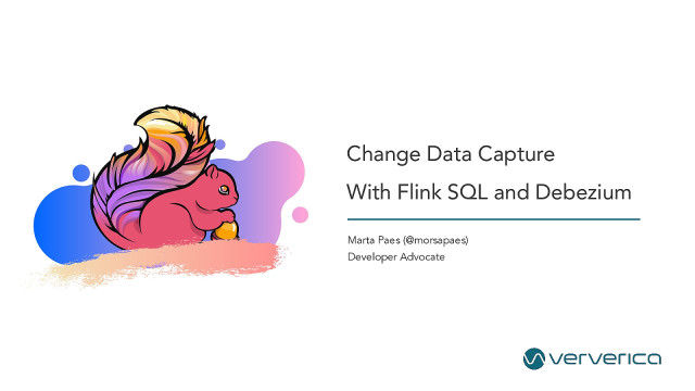Change Data Capture with Flink SQL and Debezium