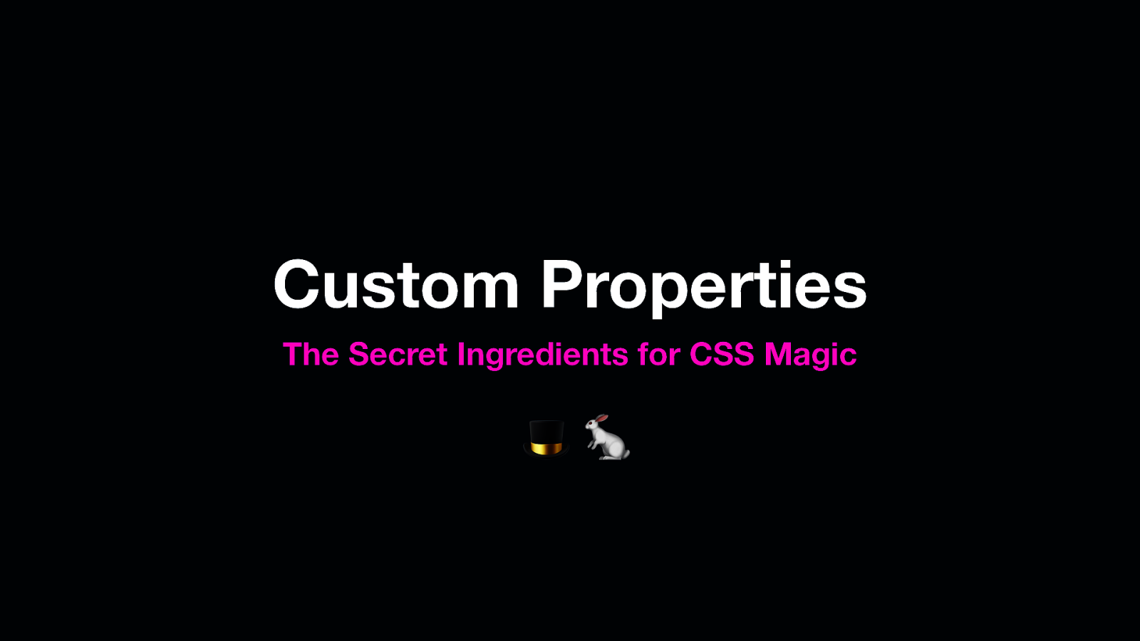 Custom Properties: The Secret Ingredients for CSS Magic