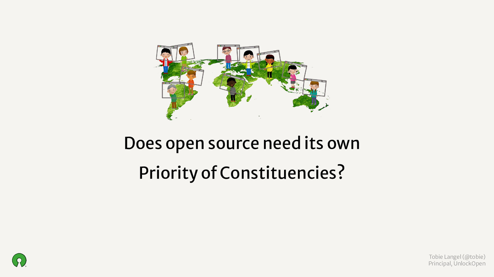 Does open source need its own Priority of Constituencies?