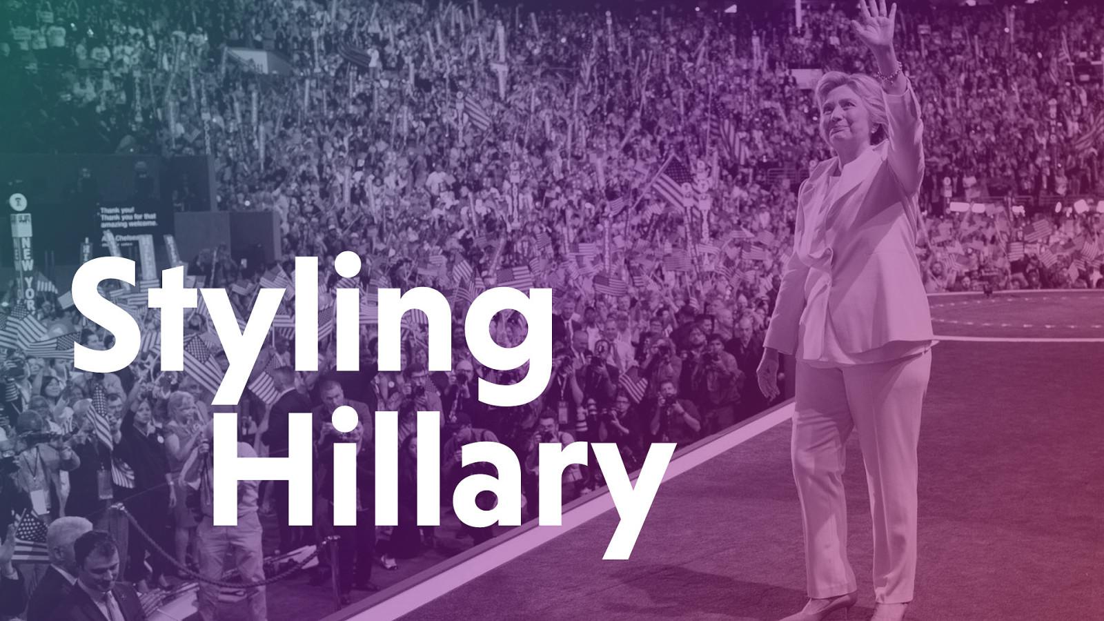 Styling Hillary by Mina Markham