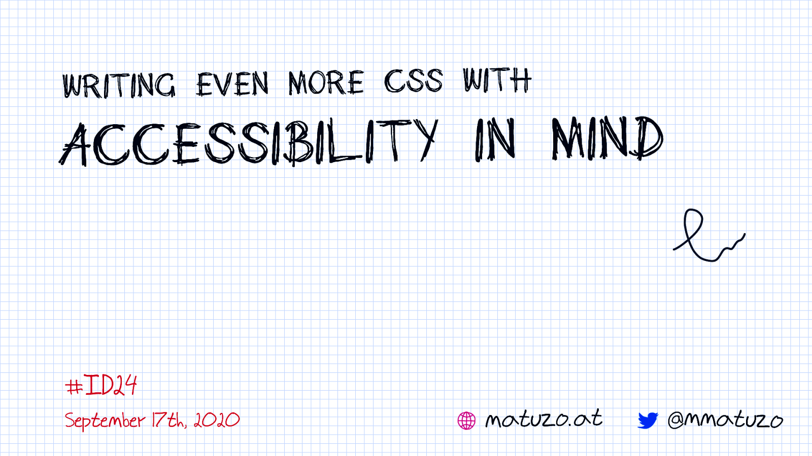 Writing even more CSS with Accessibility in mind